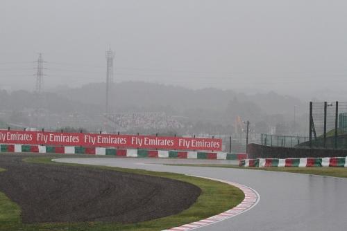 2014F1日本GP決勝 雨の鈴鹿