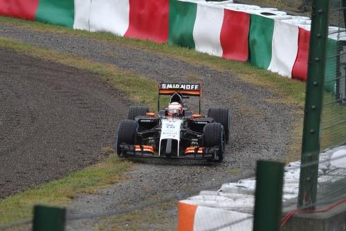 2014F1日本GP決勝 ペレス・コース復帰