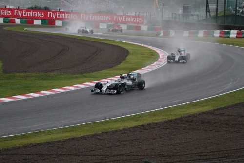 2014F1日本GP決勝 レース開始