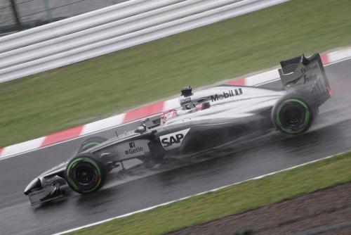 2014F1日本GP決勝 インターミディエイト(バトン)