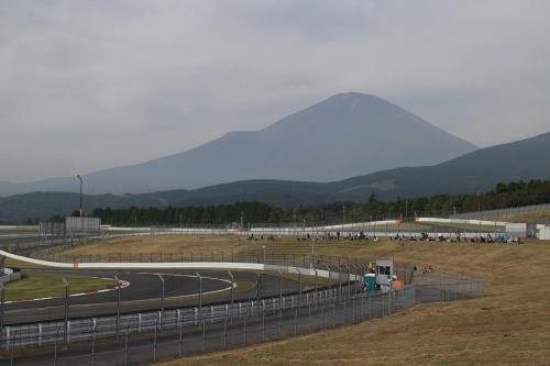 2014WEC富士6時間 富士山