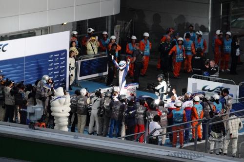 2014WEC富士6時間 レースフィニッシュ後