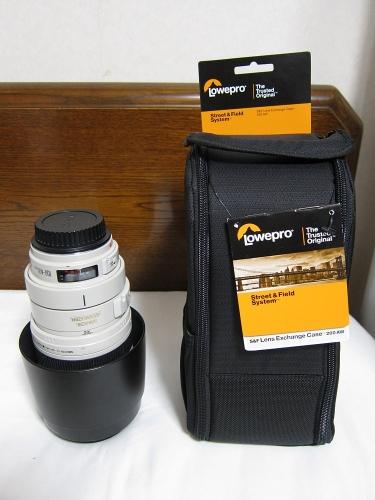 ロープロ S&F レンズエクスチェンジケース200AW
