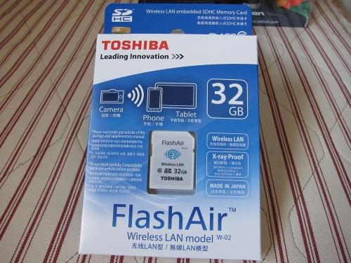 東芝 FlashAir 32GB