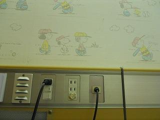 壁画チャーリーブラウン