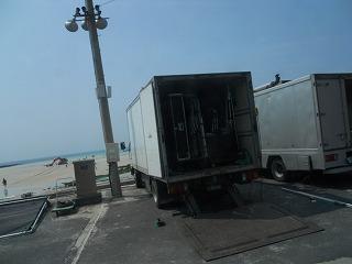 撮影トラック