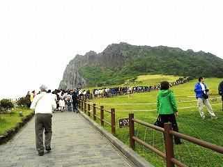 166城山日出峰(インサンイルチュルボ)