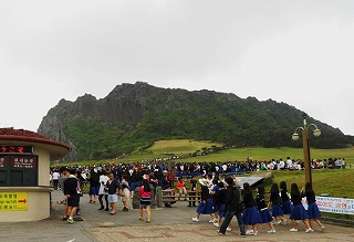 162城山日出峰(インサンイルチュルボ)
