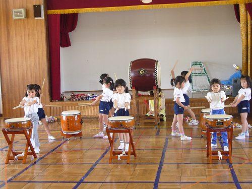 H220506和田保育園祝い太鼓練習