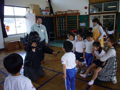 H220506和田保育園獅子舞練習インタビュー