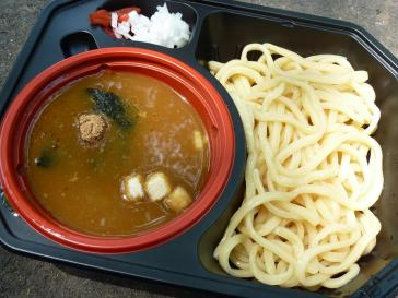 魚介カレーつけ麺