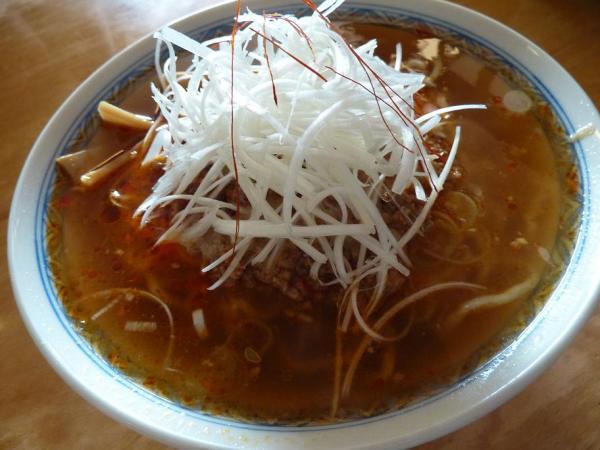 煮干担担麺
