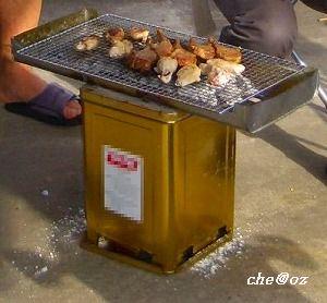 BBQ台 DIY