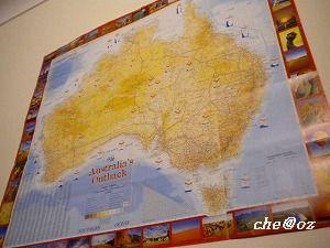 オーストラリアの地図 1