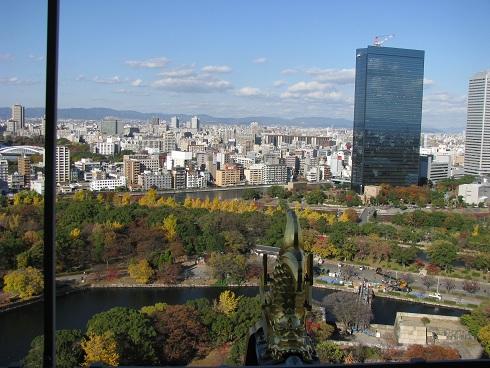 大阪城公園紅葉 その9 blog