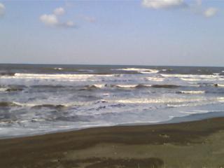 海だーーーーー(;゚ロ゚)