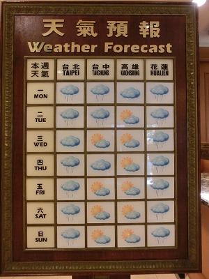 天気予報台北