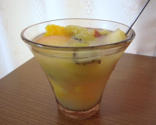 ウォッカ漬果物&グレープフルーツ