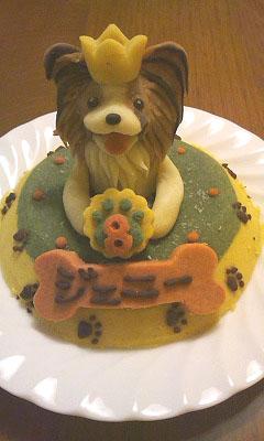 ジェニーちゃんのケーキ
