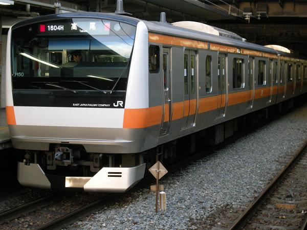 E233系-立川4番線・・・高尾行き??