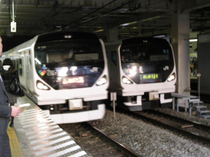E257系-AZUSA&KAIJI