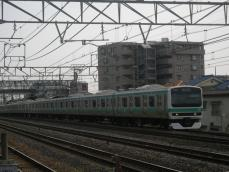 E231系 松戸周辺地域にて 1