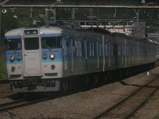 115系(長野色)-鳥橋(鳥沢~猿橋間)2