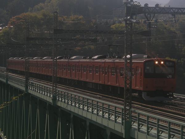 201系H7編成-鳥橋(猿橋~鳥沢間)
