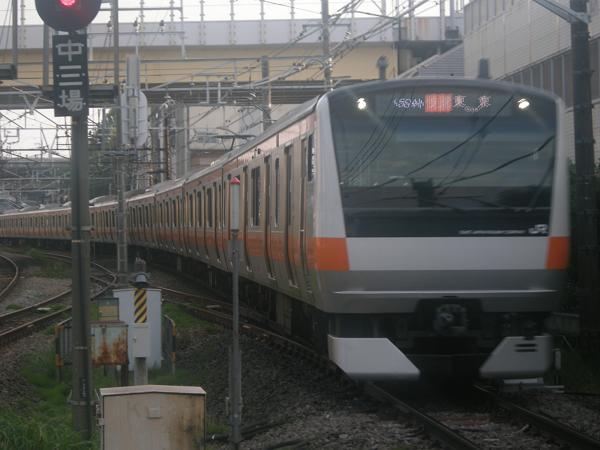 E233系T20編成-日野にて