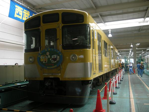武蔵丘車両基地構内にて 4