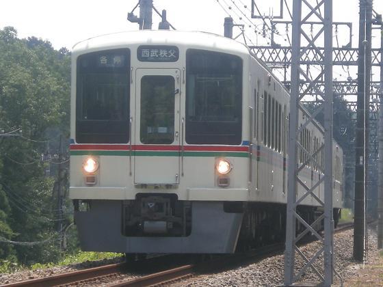 西武4000系-高麗~東飯能にて