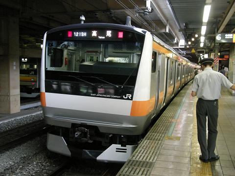 E233系H50編成-立川駅