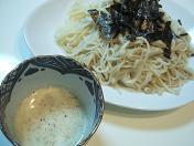 20100828豆乳胡麻つけ麺 (1)