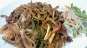 20101014韓国風炒め物