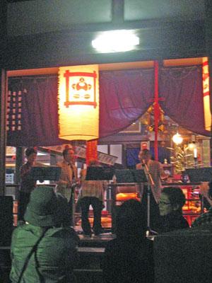 経王寺の演奏会