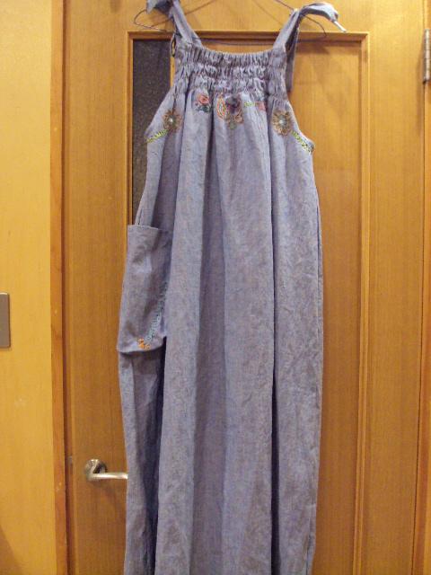 hempcotton denim dress b2