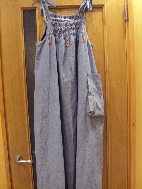 hempcotton denim dress f2