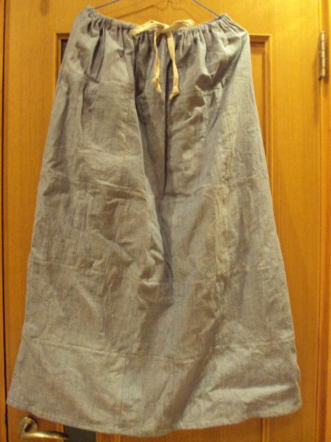 パッチスカート
