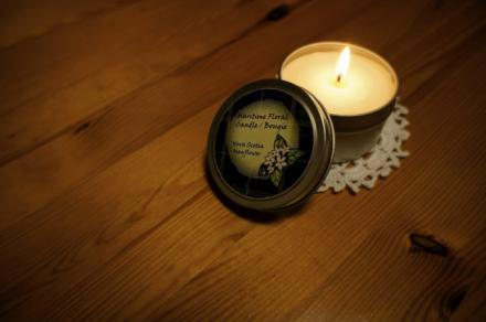 mayflower candle