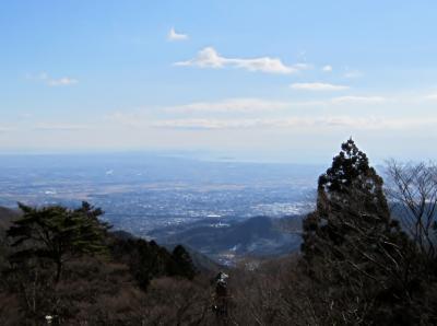大山登山マラソン試走会 ゴールからの展望