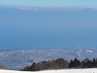 箱館山からの眺望