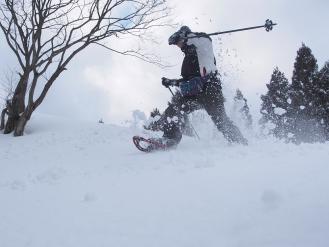 箱館山スノシュ体験の写真 (85)