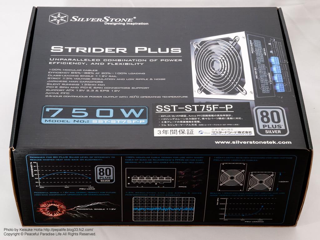 SILVERSTONE 電源ユニット SST-ST75F-P