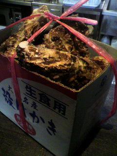 大沢産牡蠣