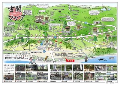 イラストマップ 史跡マップ 観光マップ MAP 手書きマップ 手描きマップ フォトショップ着色 photpshop