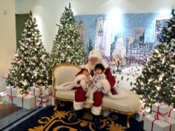 Santa at the Plaza