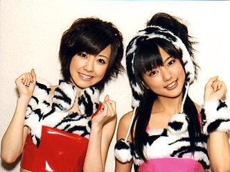 佐紀ちゃんと真野恵里ちゃん。