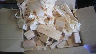 檜の薪材1