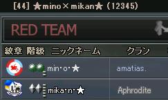 mino×mikan
