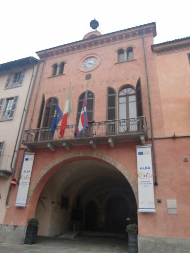 アルバの市庁舎